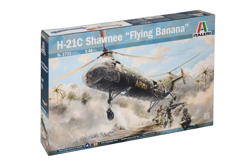 H-21C Shawnee - Flying Banana 1:48