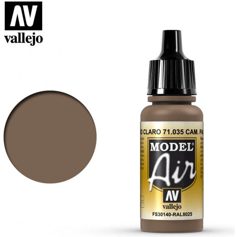 Vallejo Model Air Camo Pale Brown 71035