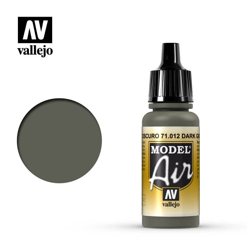 Vallejo Model Air Dark Green 71012