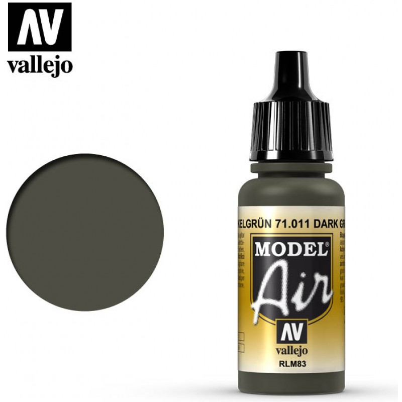 Vallejo Model Air Dark Green RLM83 71011