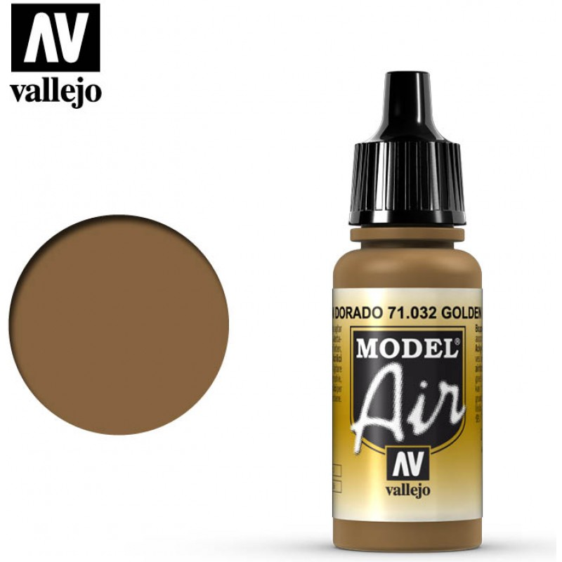 Vallejo Model Air Golden Brown 71032