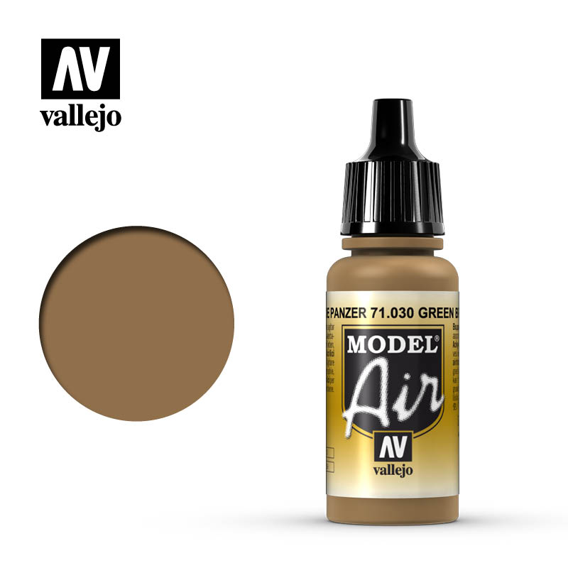 Vallejo Model Air Green Brown 71030
