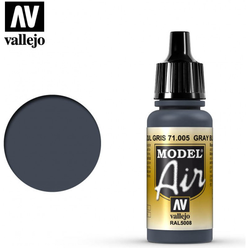 Vallejo Model Air Grey Blue 71005