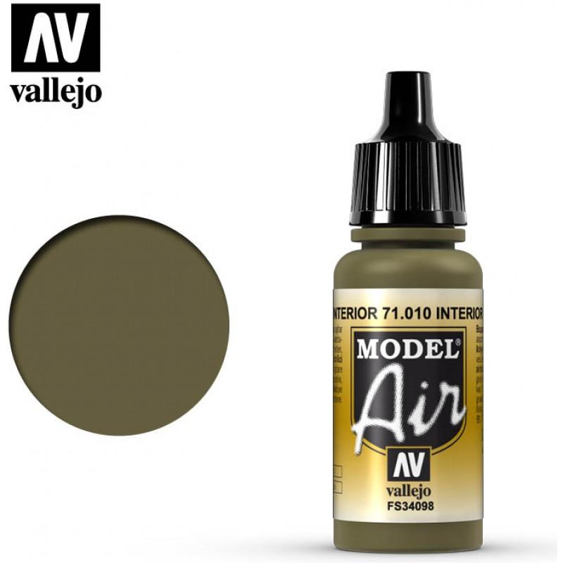 Vallejo Model Air Interior Green 71010