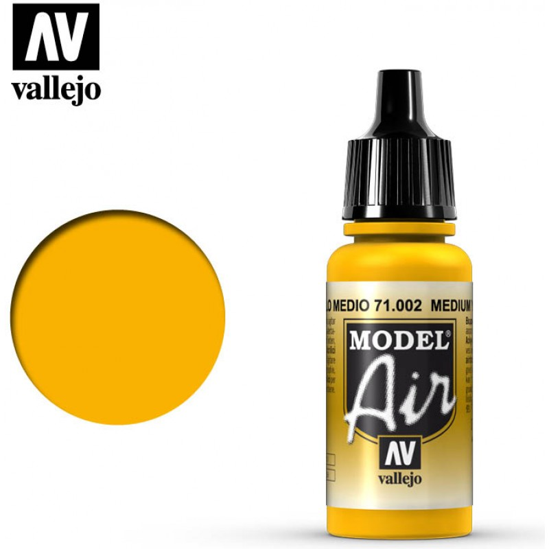 Vallejo Model Air Medium Yellow 71002