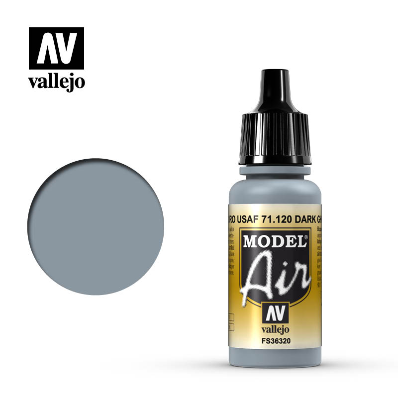 Vallejo Model Air Dark Ghost Gray 71120