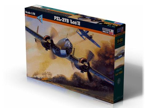 PZL P-37B LOS II 172