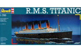 RMS Titanic Revell Συσκευασία