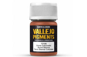 Vallejo Burnt Sienna Pigment 30ml 73