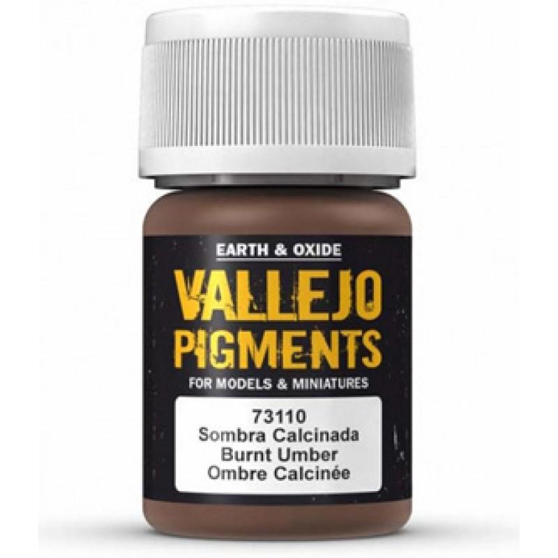 Vallejo Burnt Umber Pigment 30ml 73110