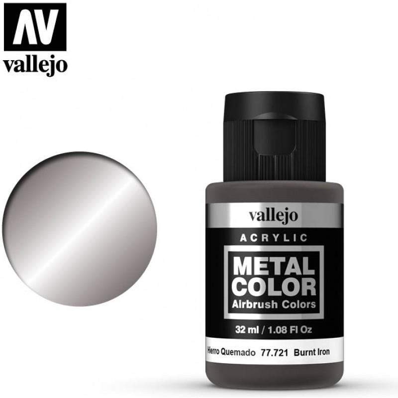 Vallejo Metal Color Burnt Iron 77721