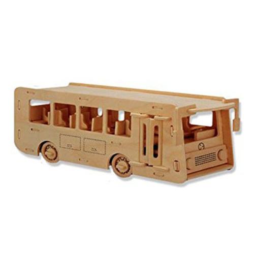 Ξύλινη Κατασκευή Λεωφορείο