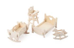 Ξύλινη Κατασκευή Παιδικό Υπνοδωμάτιο