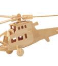 Ξύλινη Κατασκευή Πολεμικό Ελικόπτερο P007