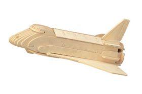Ξύλινη Κατασκευή Παζλ Διαστημόπλοιο