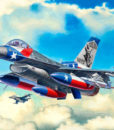 Revell F-16C Fighting Falcon Lockheed Martin 1144 Model Set 03992