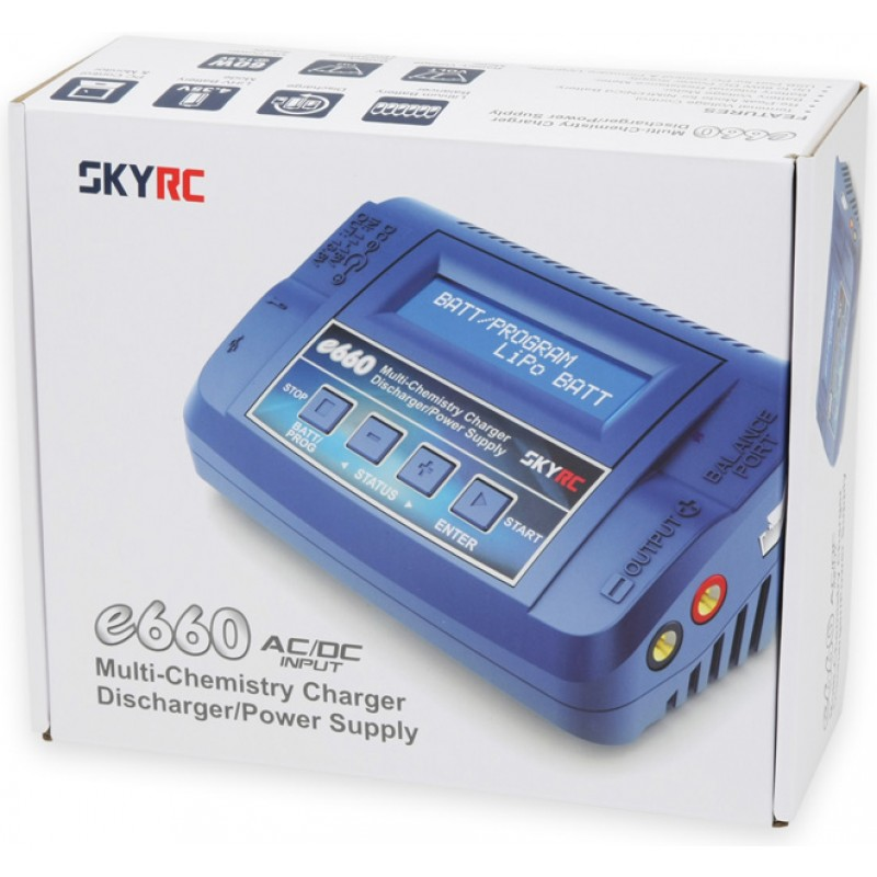 SkyRc Charger E660 60W