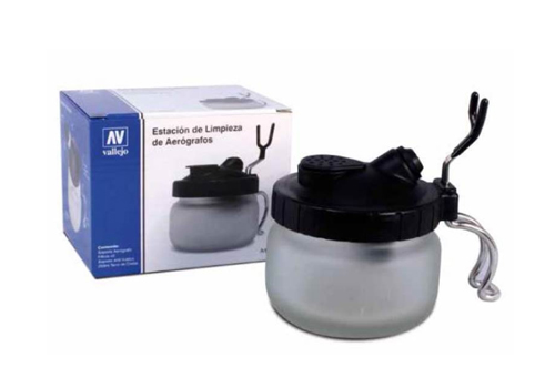 Airbrush Cleaning Pot