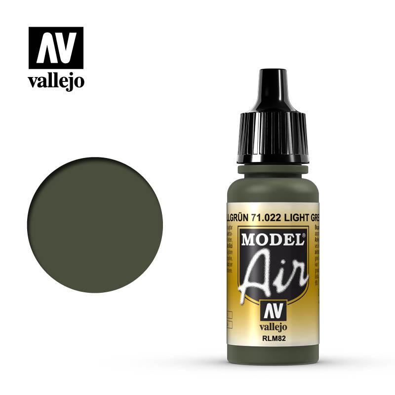 Vallejo Model Air Light Green RLM82 71022