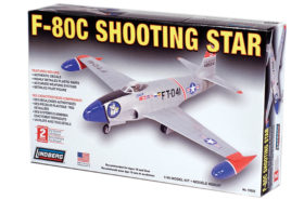 F-80C SHOOTING STAR 148 LINDBERG
