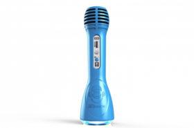 iDance Party Mic PM-6 Blue με Bluetooth, Ενσωματωμένο Ηχείο Karaoke και Φωτορυθμικό