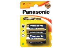 Αλκαλικες Μπαταριες LR-14 Panasonic για Γενικη Χρηση
