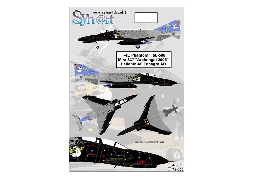 F-4E Phantom II 68-506 Mira 337 Archangel 2005 Hellenic AF
