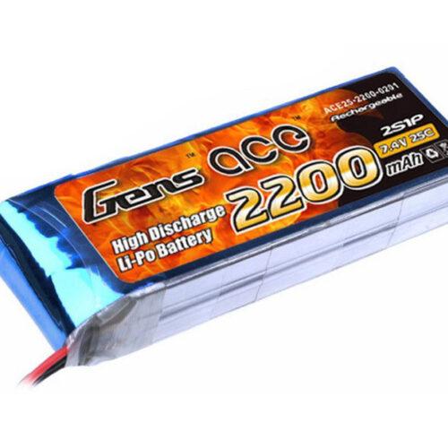 Gens Ace Lipo Battery 7.4V 2200mAh