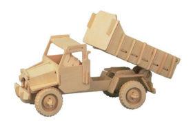 Ξύλινη Κατασκευή 3D Puzzle Φορτηγό P026