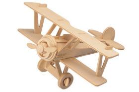 Ξύλινη Κατασκευή Αεροπλάνου για Μάθημα Τεχνολογίας P060