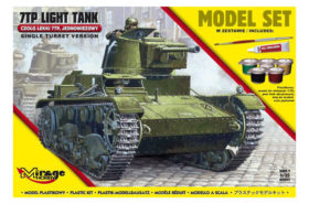 Mirage Hobby 7TP Light Tank Model Set