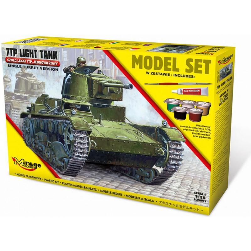 Mirage Hobby 7TP Light Tank Model Set