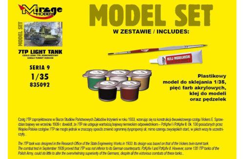 Mirage Hobby Tank Model Set