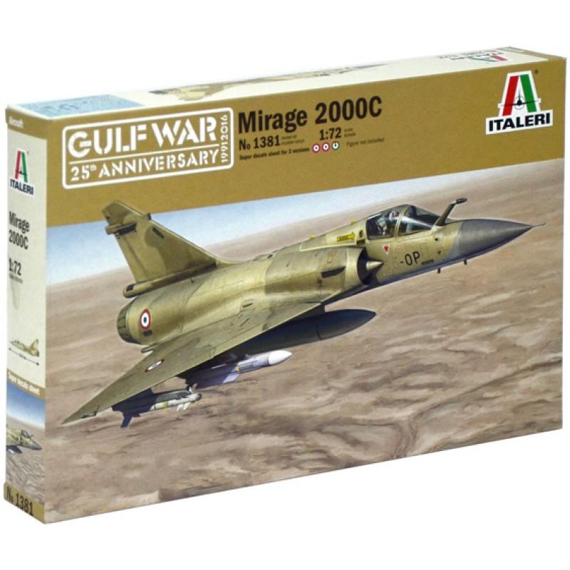 ITALERI Mirage 2000C 1 72