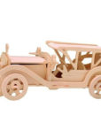Ξύλινη Κατασκευή Puzzle 3D Αυτοκίνητο