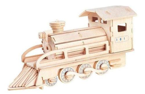 Ξύλινη Κατασκευή για Μάθημα Τεχνολογίας Ατμομηχανή