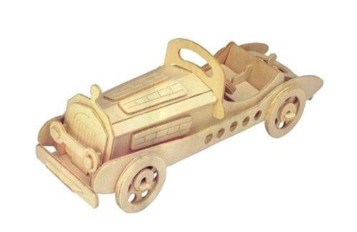 Ξύλινο 3D Puzzle Αυτοκίνητο Mercedes