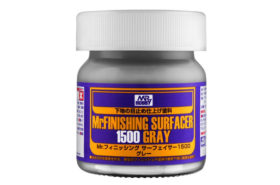 Mr. Finishing Surfacer 1500 Gray (40 ml) Gunze SF-289
