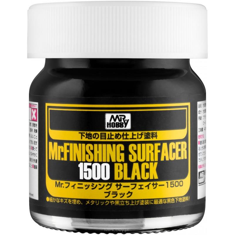 Mr. Finishing Surfacer 1500 Black (40 ml) SF-288