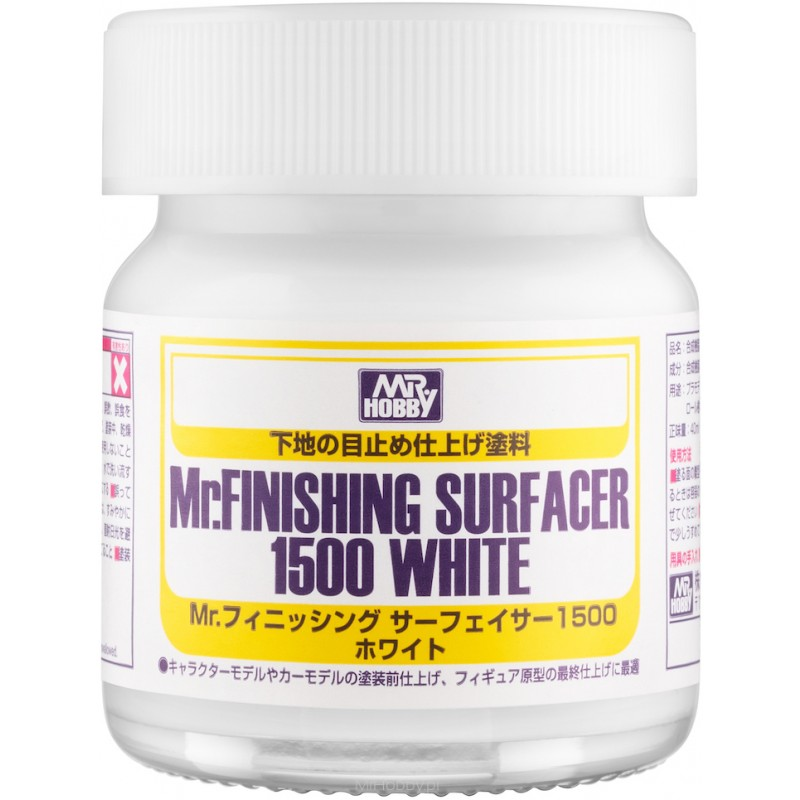 Mr. Finishing Surfacer 1500 White (40ml) Gunze SF-291