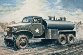 2 ½ Ton. 6x6 Water Tank Truck 1:35