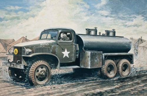 2 ½ Ton. 6×6 Water Tank Truck 1:35