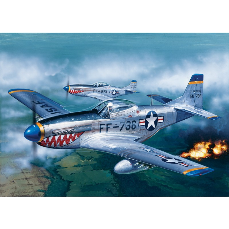 F-51D Mustang 1:72 Italeri