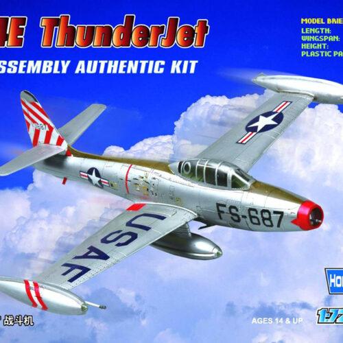 F-84E THUNDERJET HOBBYBOSS 1:72