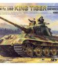 German Heavy Tank Sd.Kfz.182 King Tiger (Henschel Turret) with 2 Figures 1:35