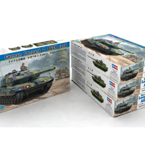 German Leopard 2 A6EX Tank 1:35 HobbyBoss