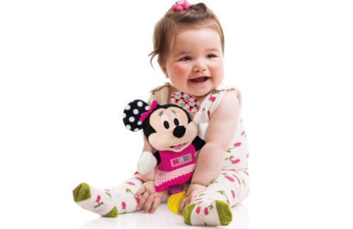 Λούτρινα Παιχνίδια για Μωρά Minnie Clementoni