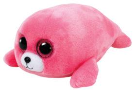 Λούτρινα Ty Beanie Boos Φώκια Ροζ