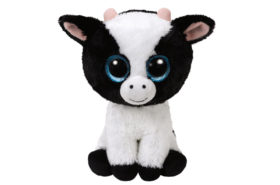 Ty Beanie Boos Λούτρινο Αγελάδα Άσπρο Μαύρο
