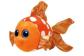 Ty Beanie Boos Λούτρινο Ψάρι Πορτοκαλί